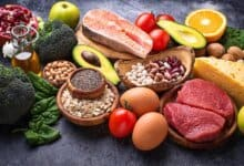 Lebensmittel, um Gewicht zu gewinnen
