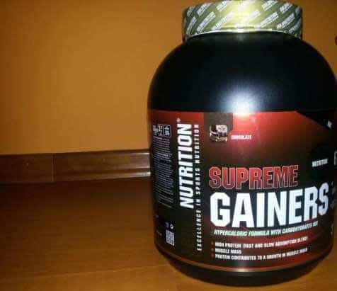 Gold Nutrition Supreme Gainers