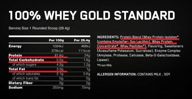 proteína de suero como elegir