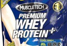 proteína de suero premium muscletech plus