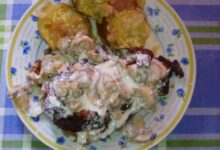 Photo of Batata doce com bife à Vasco