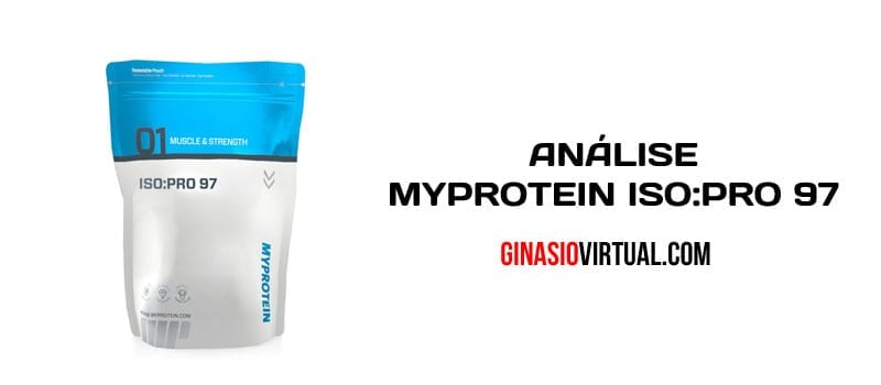 Myprotein ISO PRO ginasio