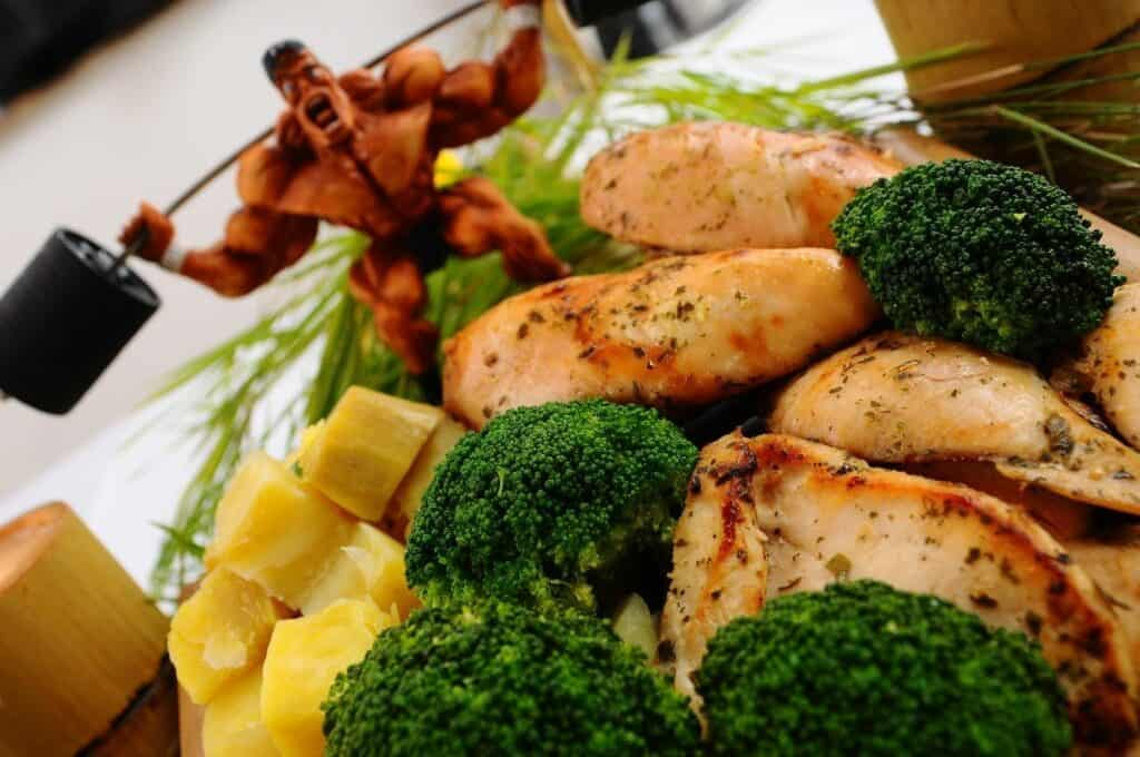 きれいな食べ物