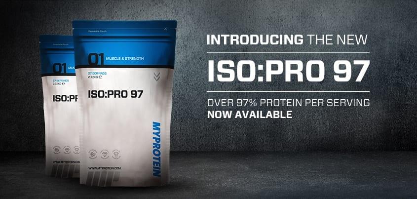 myprotein isopro protein