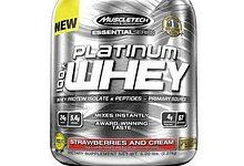 Muscletech Platinum Whey - Critique