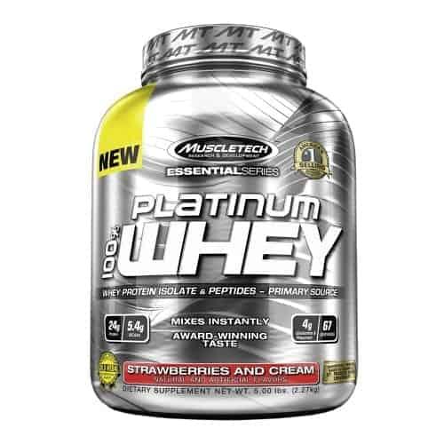Muscletech Platinum Whey - Análise