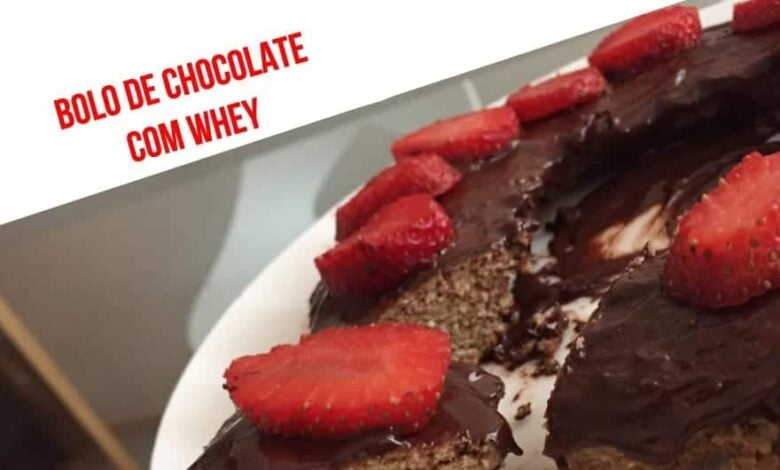 Chocolate cake with whey