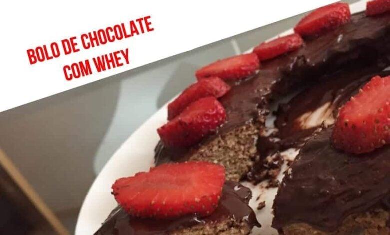 Chocolate cake with whey