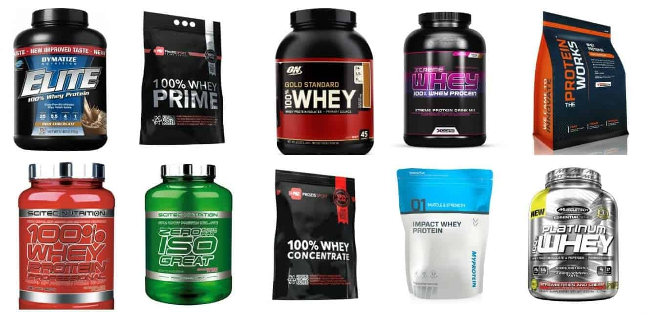 o melhor suplemento de whey protein
