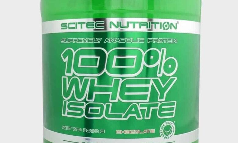 scitec whey isolate proteína