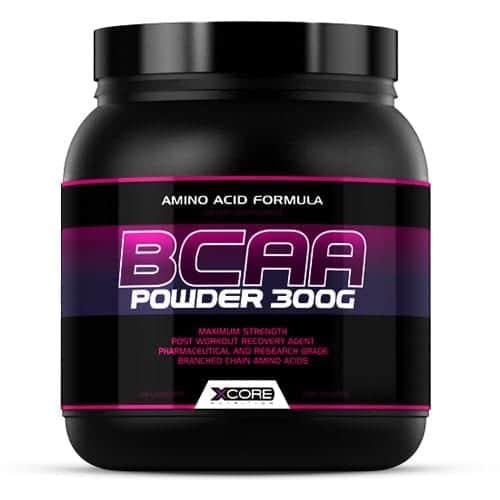 Uma embalagem de BCAA's