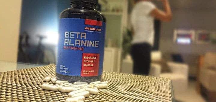 Um suplemento de Beta-Alanina
