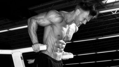 Rob Riches - Training and diet plan
