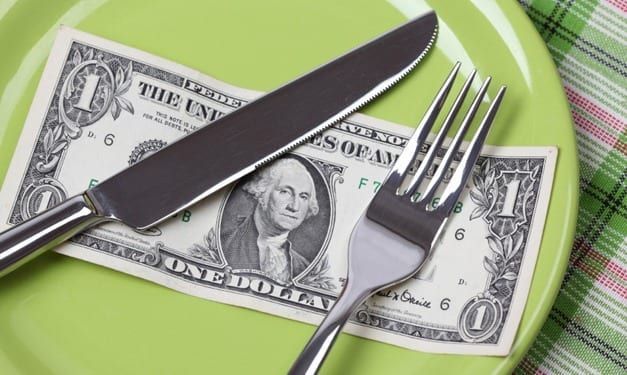 How to diet without going broke