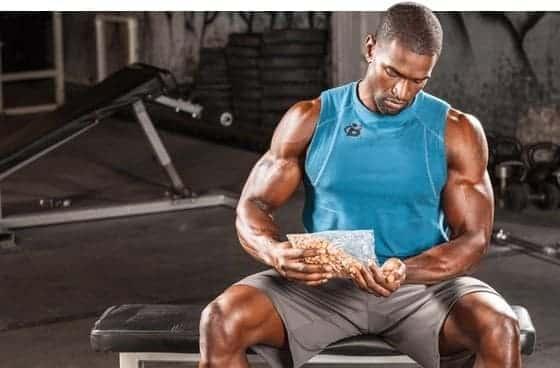 Frühstück, um Gewicht zu verlieren oder Muskelmasse zu gewinnen