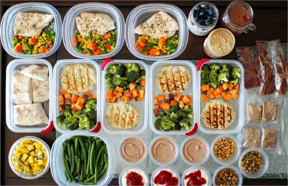 zubereitete Mahlzeiten