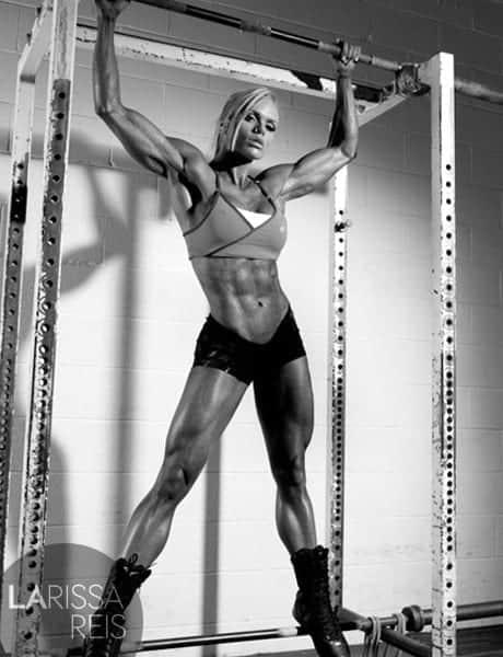 Larissa Reis plano de treino e dieta