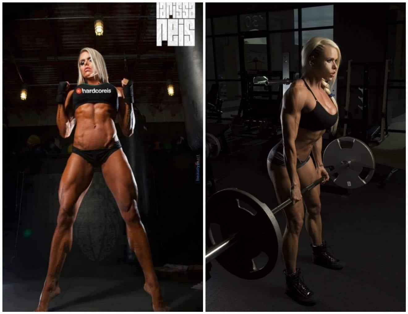 Larissa Reis allenamento e dieta