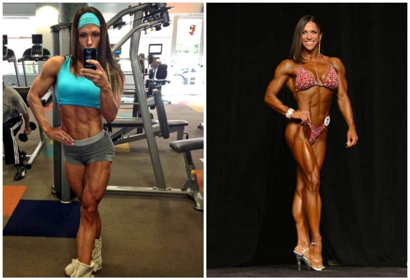 Oksana Grishina Trainings- und Diätplan