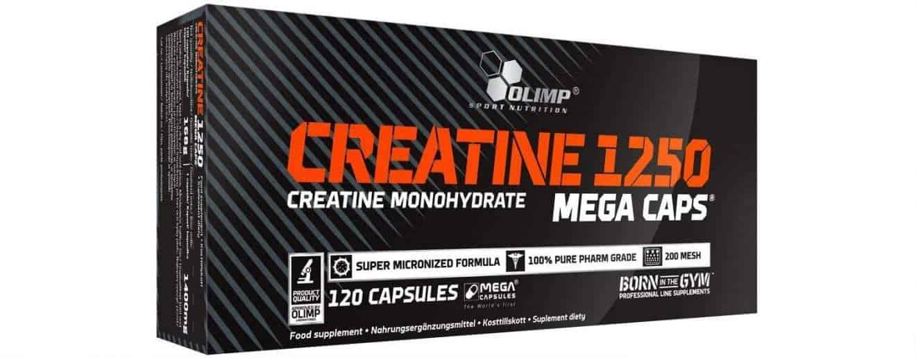 méga capsules de créatine olimp