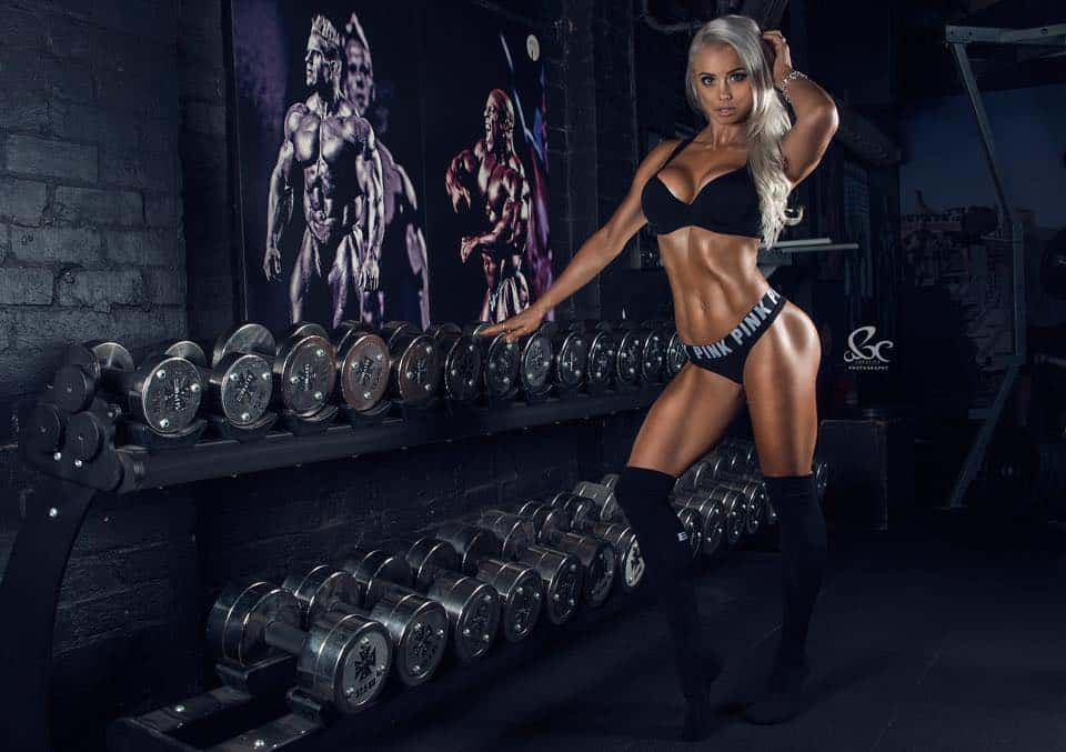 Lauren Simpson workout and diet plan