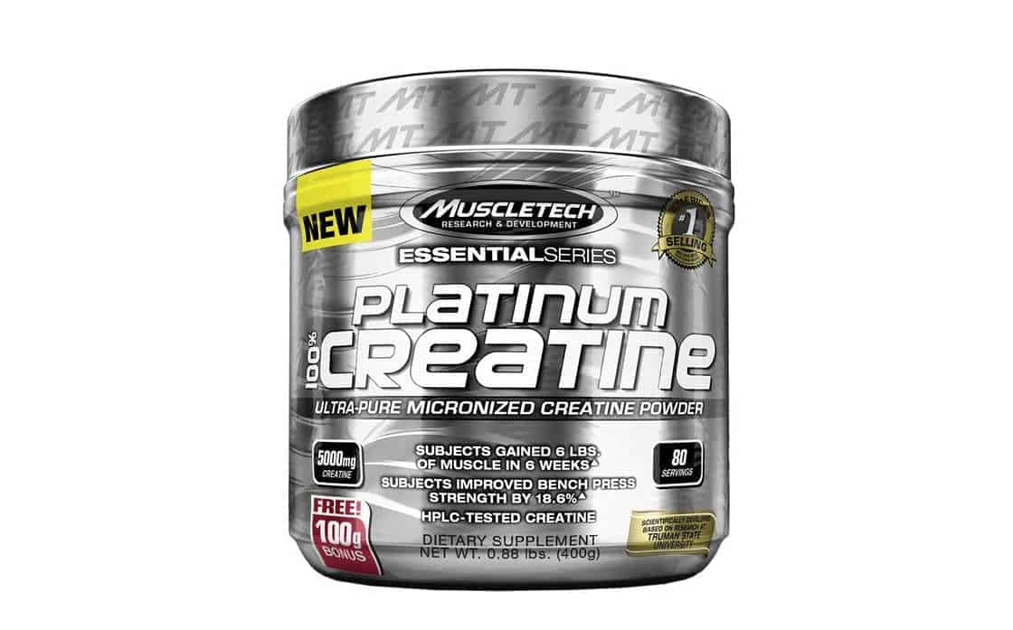 muscletech platinum 100% creatina
