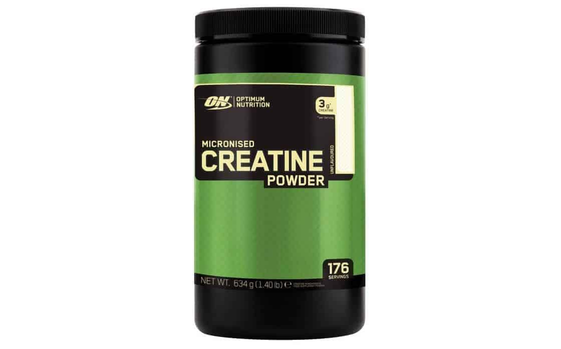 Envasado de creatina de Optimum Nutrition