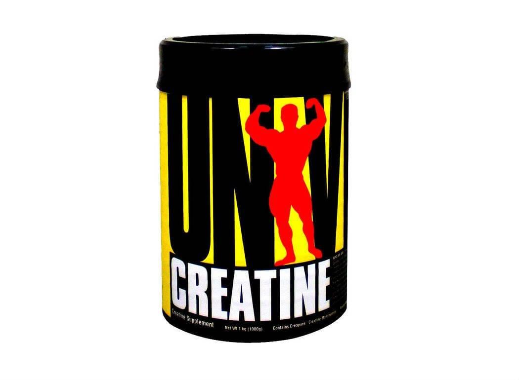 envase de creatina universal