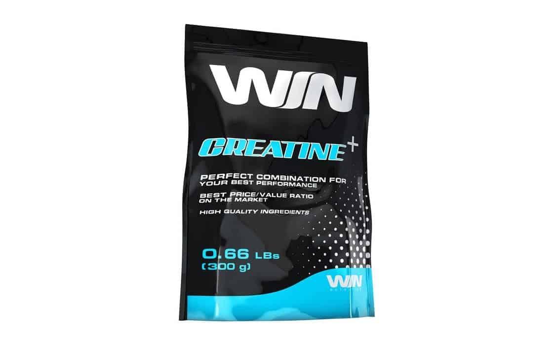 win nutrition creatine+ embalagem