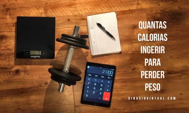 calorías para bajar de peso