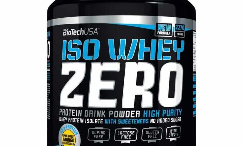 bioteknik använder iso zero whey
