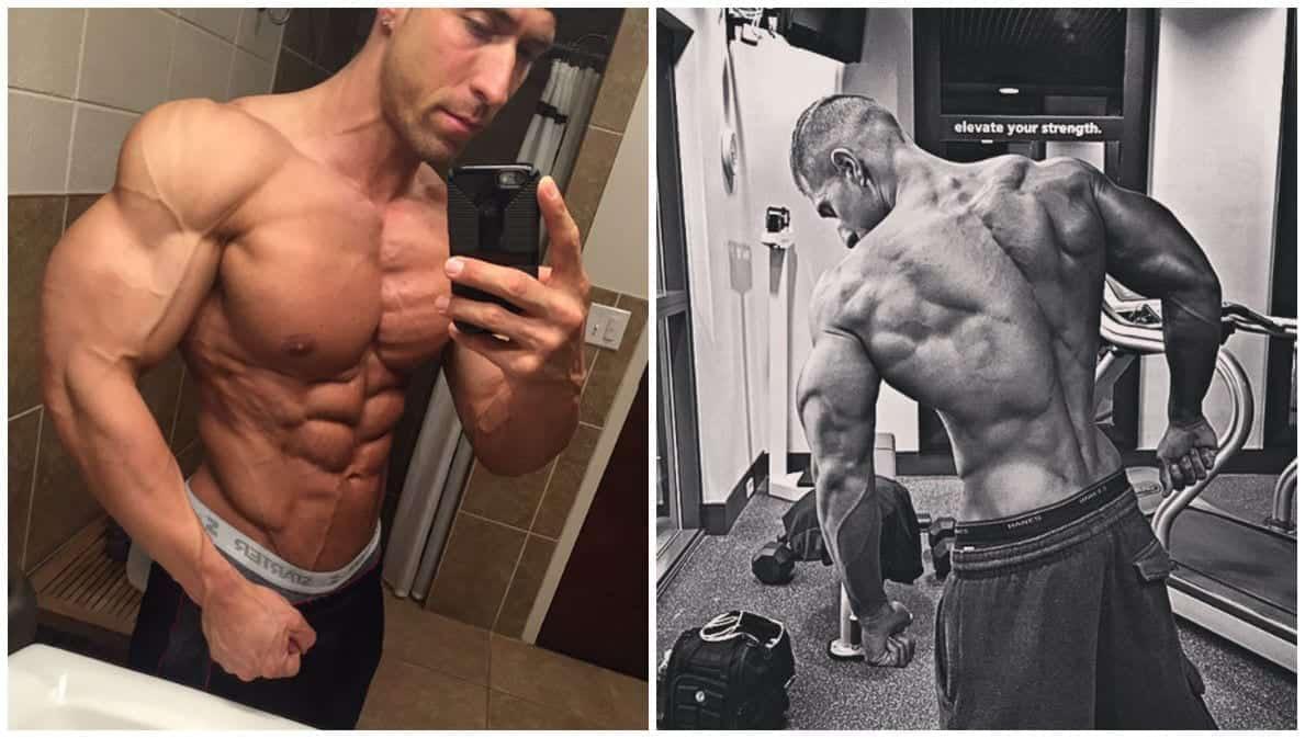 chris kakouras treino men's physique