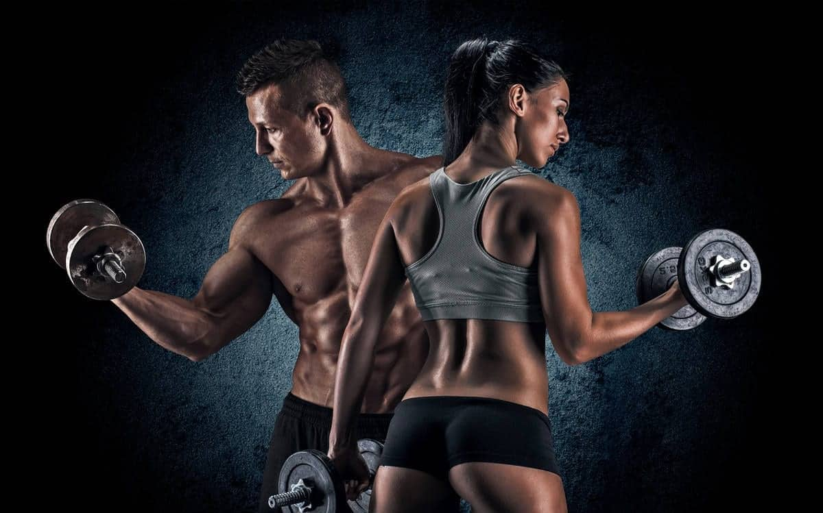 definição muscular no verão