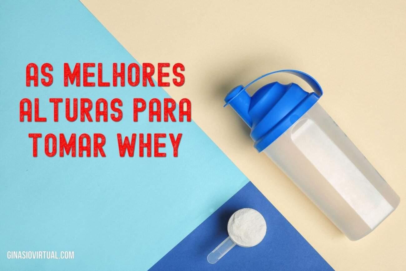 momento migliore per prendere le proteine del siero di latte
