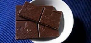 chocolate preto magnésio