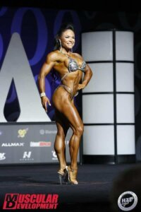 Myriam Capes mr Olympia 2017