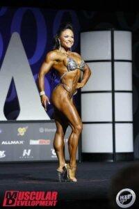 Myriam Capes mr Olympia 2017