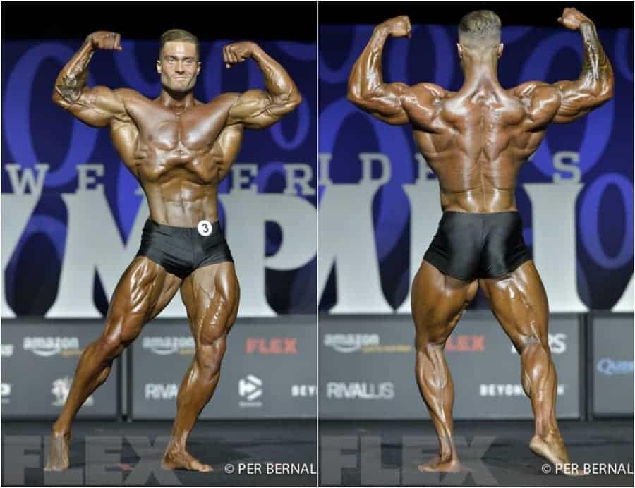 Chris Bumstead klassischer Körperbau