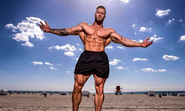 Chris Bumstead Training