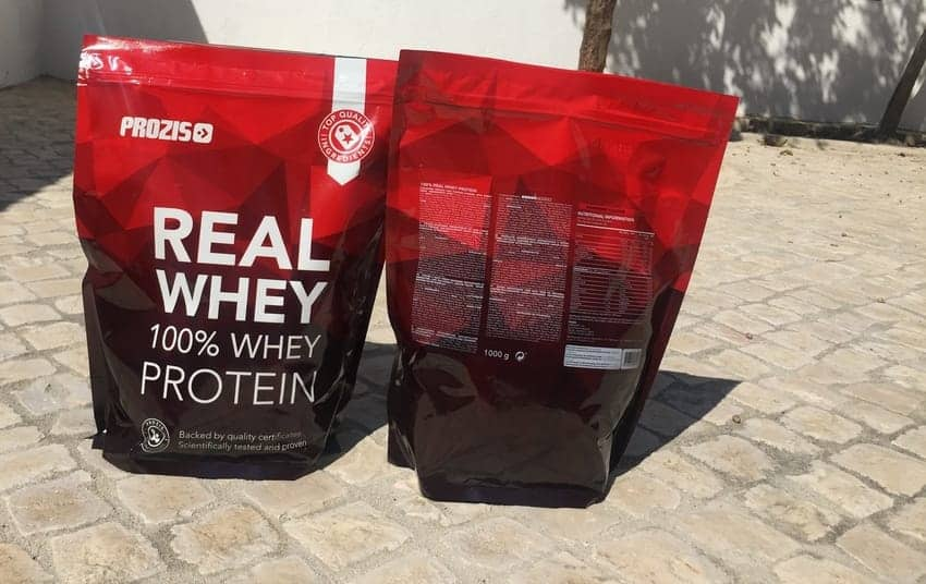 real whey prozis sport