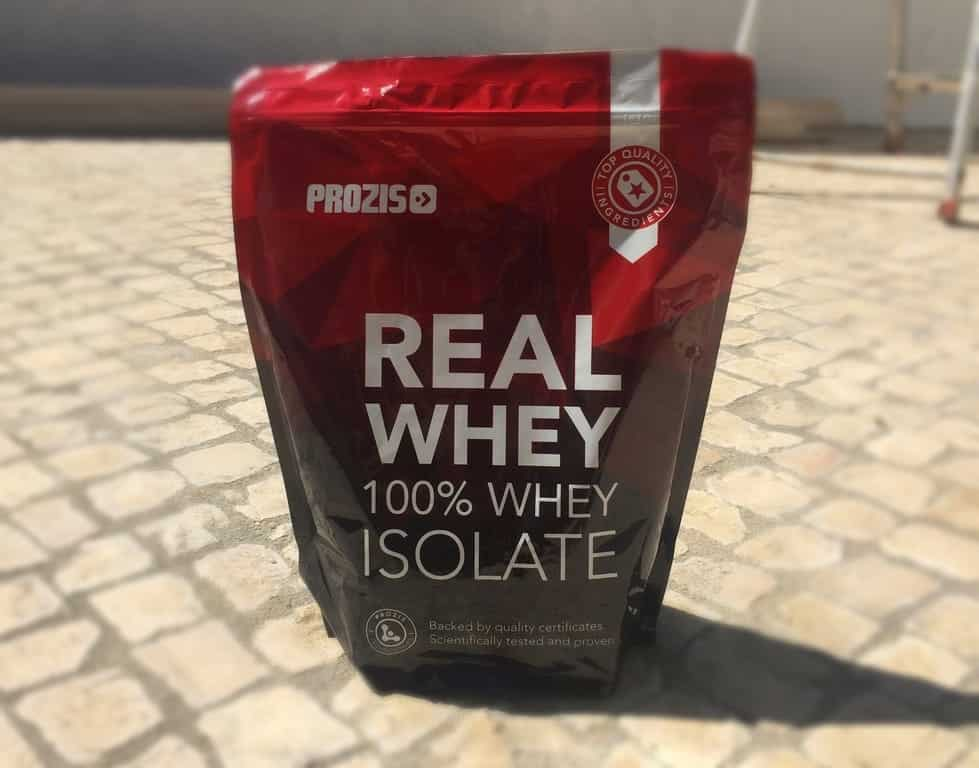 real whey isolate analise