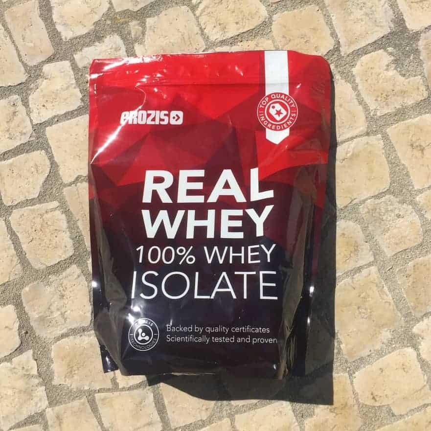 real whey isolate prozis