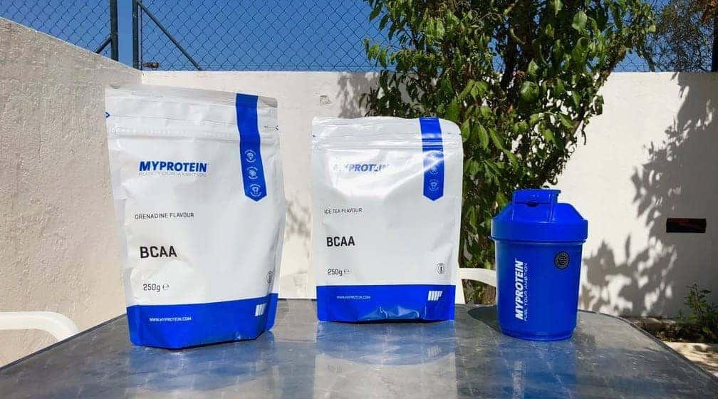 myprotein bcaa's