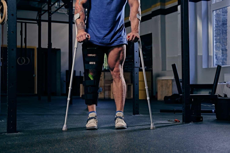 prevenir lesões no ginásio