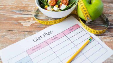construir una dieta