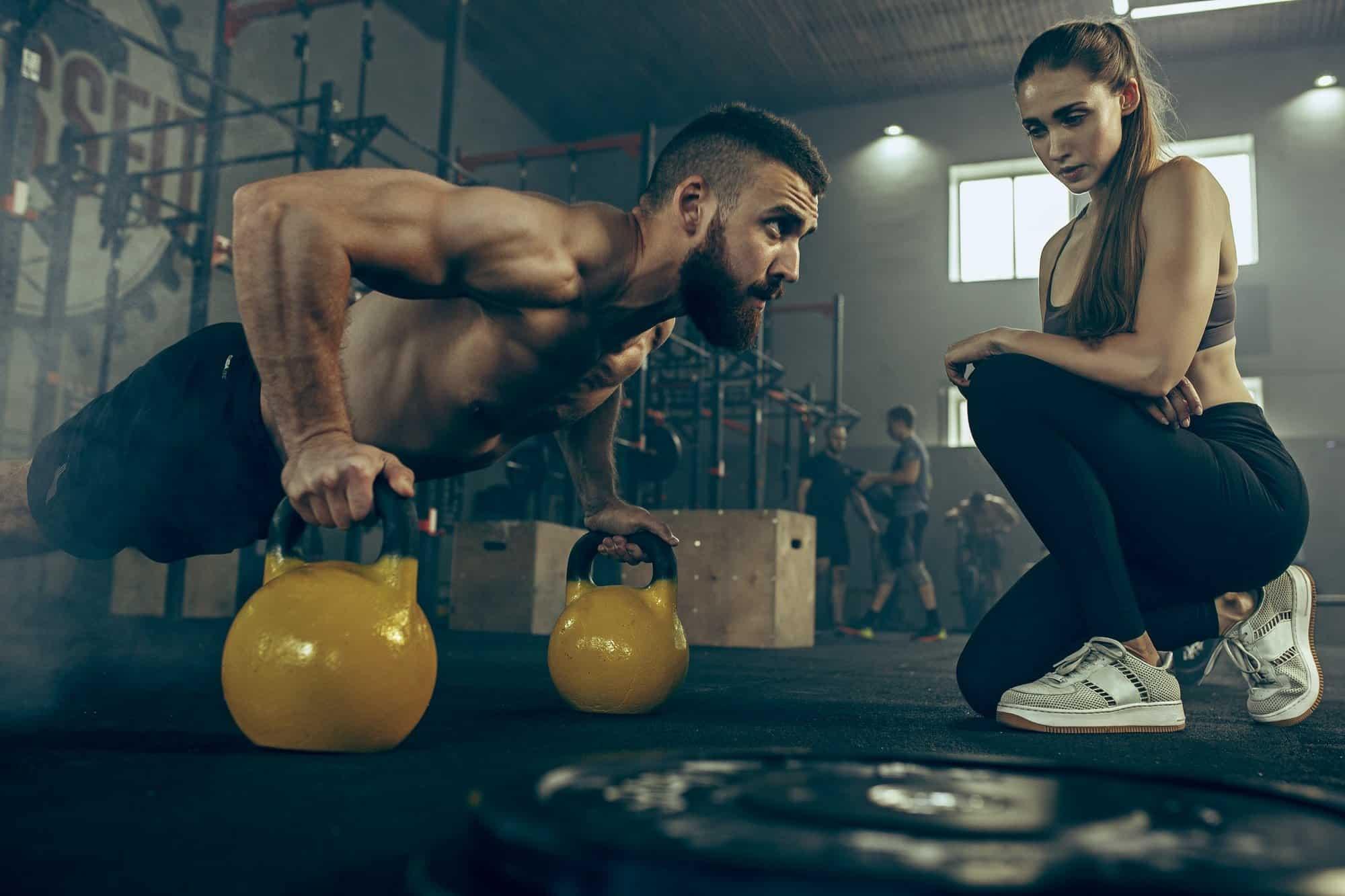 fase de definição muscular