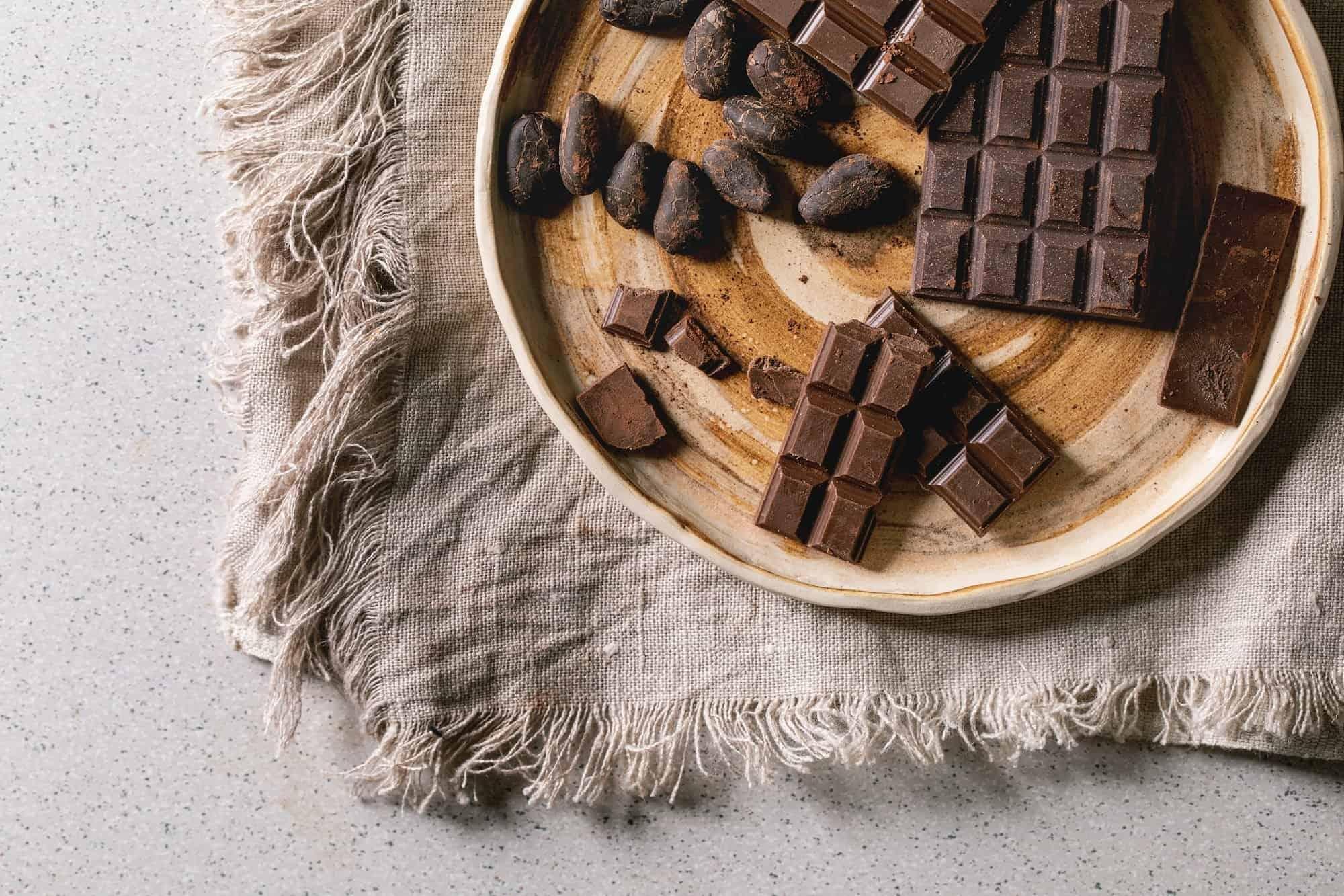 chocolate negro de magnesio