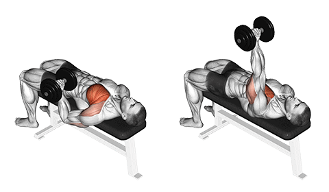chest press with one arm