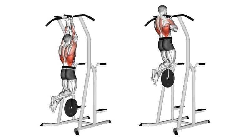 lifts with weight and short grip