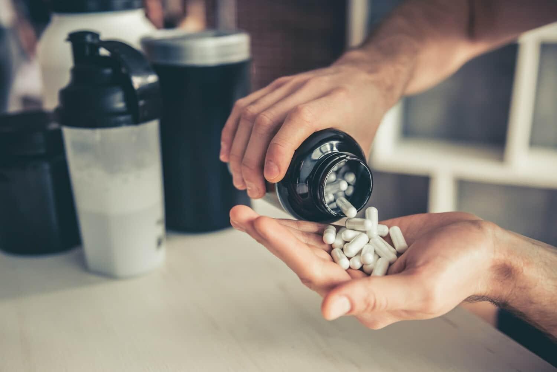 creatina em comprimidos